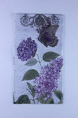 1 Lilac paper napkin for decoupage