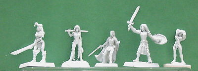 25mm 28mm Female Figures Mainly Reaper But Others As Well Lot of 20 #6