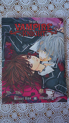 The art of Vampire knight by Matsuri Hino illustrations viz media art book VN