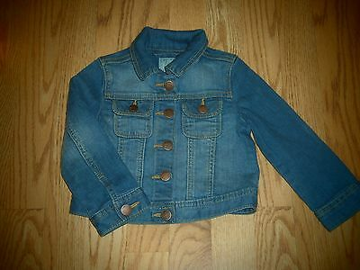 Baby Gap Girls Toddlers Denim Jean Jacket 2 Years 2T SOOO ADORABLE Button Down