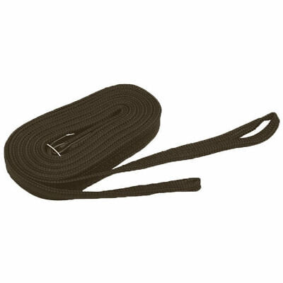 Gymkhana Draw Reins Zilco aka Running Reins Nylon easy to hold BROWN 2.3mt