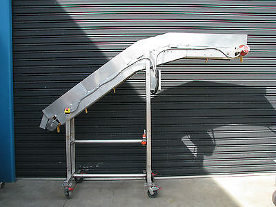 Elevator Conveyor - 2.2m high 3.2m long 250mm wide