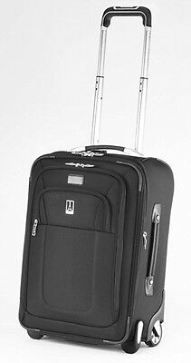 Travelpro Crew8 20 in. Expandable Biz. Rollaboard - Luggage Black - MSRP $400