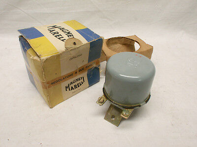 NOS Magneti-Marelli Voltage Regulator - Innocenti  Alfa Ferrari Fiat Lancia