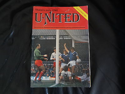1981 MUFC Christmas Newsletter with Greetings Card