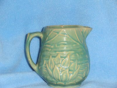 Antique Rare McCoy nelson water Lily  pitcher pattern #124 Circa 1935