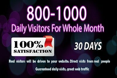 Strategy Marketing/Advertising  Your Website For 30 Days