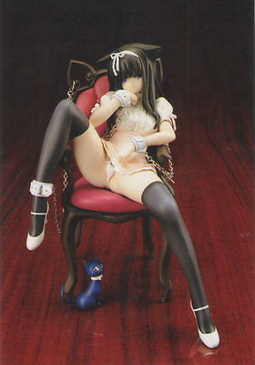 Cat on a Chair Planet of the Cats 1/7 Anime Unpainted Figure Model Resin Kit
