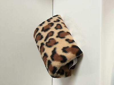 Comfy Crutch Ergonomic Comfort Grip Handle Covers - Leopard