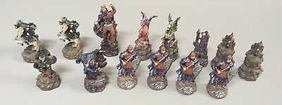 Fantasy Good vs Evil Chess Extra Pieces (AS IS) - Lot of 14