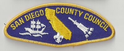 """""""SAN DIEGO COUNTY COUNCIL"""" -  T-3 - MINT PATCH"""
