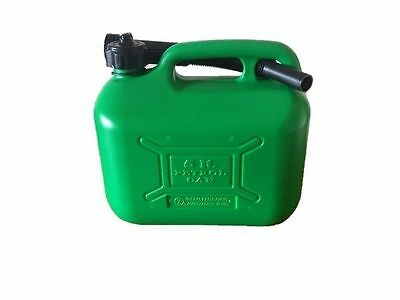 Cosmos Plastic Unleaded Fuel CAN - 5 Litre - Strong/durable Plastic - Storage