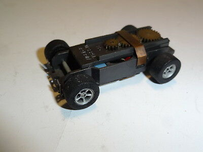 Vintage Aurora T-jet  Tuffones Chassis with AFX wheels - ho slot car