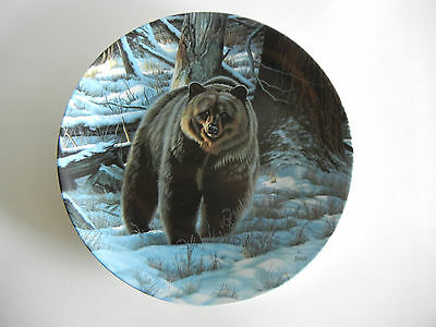 1988 The Grizzly Bear Plate by Paul Krapf Bradex Wild and Free Canada Big Game
