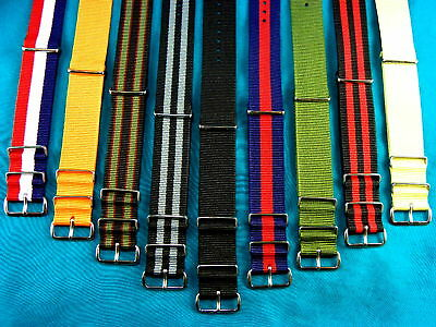 MOST POPULAR BRITISH MILITARY STYLE G-10 WATCH BANDS / STRAPS