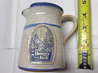 Hungry Jack Syrup Pitcher -Stoneware