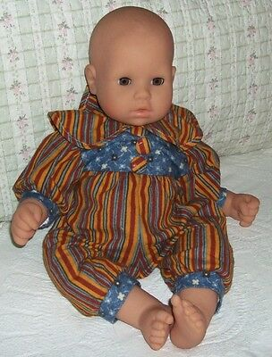 """Designer Playsuit for 19"""" Chou Chou Dolls - From Spain"""