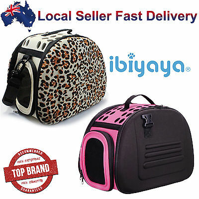 Portable Collapsible Pet Dog Cat Carrier Crate Travel Shoulder Bag Light Weight
