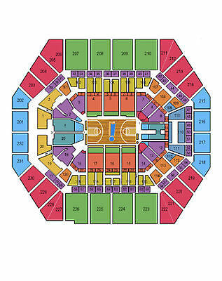 2 Indiana Pacers vs Washington Wizards Tickets 04/14/15 (Indianapolis)