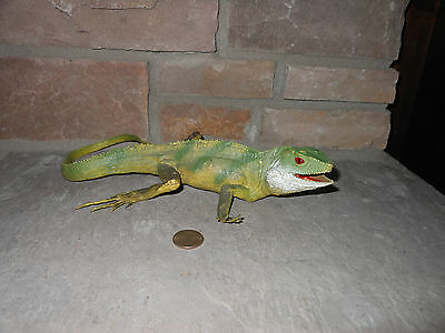 AAA vintage water dragon or Iguana plastic rubber toy model nice!