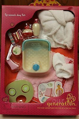 Our Generation 18 Inch Doll Spa Day Accessory Set Fits American Girl Dolls