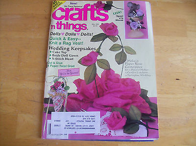 Crafts 'N Things May 1994  40 Patterns
