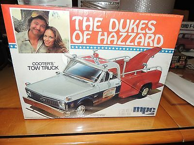 MPC THE DUKES OF HAZZARD COOTER'S TOW TRUCK #1-0441 NOS SEALED RARE 1/25 SCALE