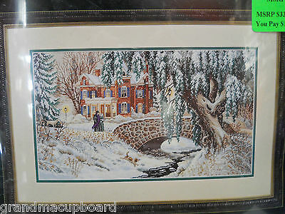 Dimensions The Gold Collection WINTER LACE Counted Cross Stitch Kit #35111 NIP