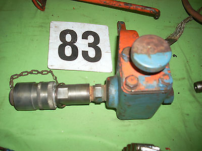 Allis Chalmers WD WD45 Tractor Rear Hydraulic Remote With Control Valve