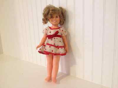 Cute Vintage Ideal 1972 16 inch Shirley Temple Doll