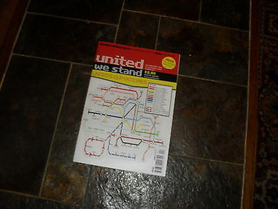 MAN U.FANZINE 'UNITED WE STAND'  ISSUE 204 APRIL 2011