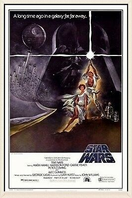 Movie Poster Star Wars Luke Skywalker Princess Lia Darth Vader 24X36