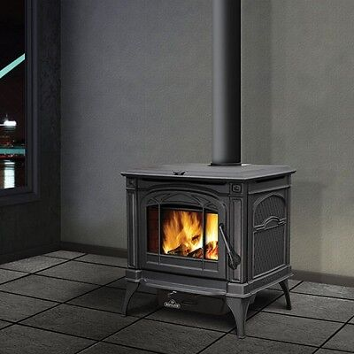 Napoleon Wood Burning Stove Cast Iron 1400C Cook top EPA WITH BLOWER!!