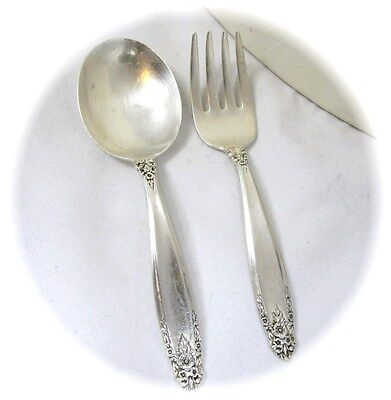 Childs International Sterling Silver Prelude fork and spoon set  34.5 grams