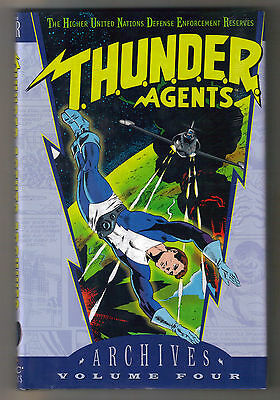 DC Thunder Agents Archives Edition Vol 4 FS Hardcover  Wally Wood T.H.U.N.D.E.R.