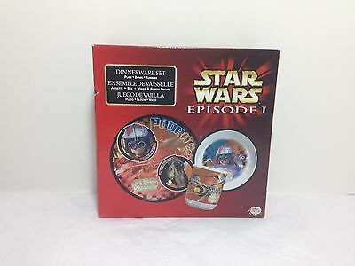 *NEW* Star Wars Episode I Dinnerware 3-Piece Set - Never used!