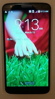 LG G2 Black 32GB LS980 Sprint Android Smartphone - EXCELLENT - CLEAN ESN