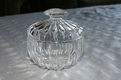 Mikasa Park Lane ~ Condiment / Candy Jar / Bowl with Lid ~ Excellent  ~ HTF