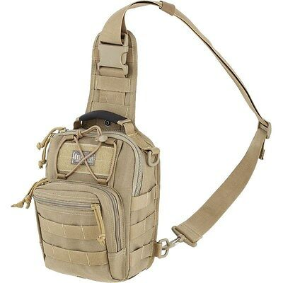 Tactical Outdoor Gearslinger Shoulder Pack, Small Remora Camp Hike EDC Backpack