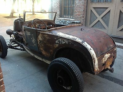Ford : Model A blue 1929 ford roadster
