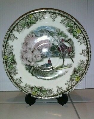 """Johnson brothers friendly village """" The Well """" collectable plate"""