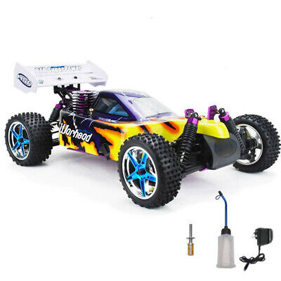 HSP Remote Control RC CAR 1/10 2.4ghz 2Speed Nitro 4WD Off-Road Buggy 10716 107