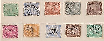 (TIA14) 1874-1930 Egypt 27mix including officials