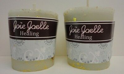 Healing White Beeswax Spell Votive Candles 2 pack