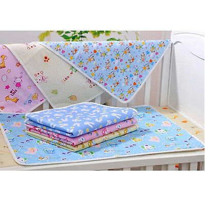Baby Infant Foldable Waterproof Reusable Urine Pad Cover Diaper Changing Mat