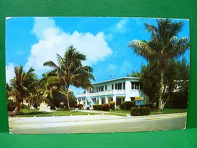 Postcard FL Fort Lauderdale Baldwin Beach Apartments