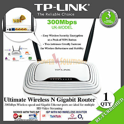 TP-Link Wireless N Cable Router for Cable / Fiber Connection 300Mbps TL-WR841N