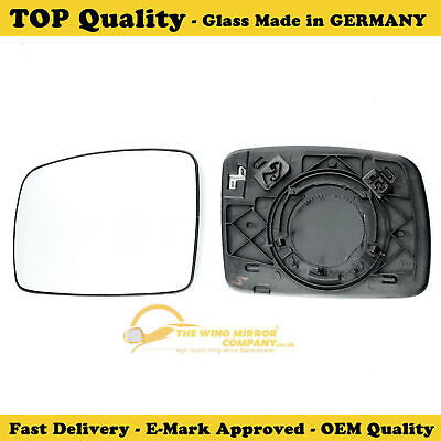 Land Rover Discovery 2004 08 Left Side Door/wing Mirror Glass Silver,heated&base