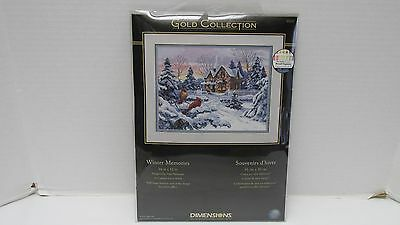 Dimensions GOLD COLLECTION  Counted Cross Stitch Kit WINTER MEMORIES