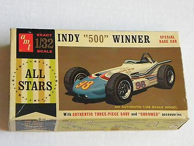 1/32 INDY 500 WINNER  PLASTIC MODEL KIT BY AMT – INCREDIBLE!!!
